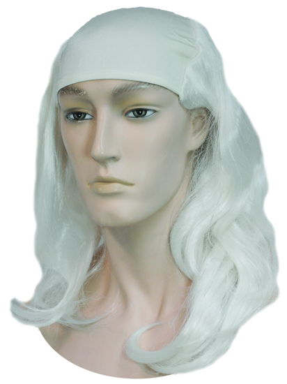 FATHER TIME/MERLIN WHITE WIG O