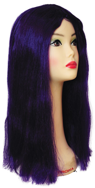 WITCH WIG NEW BARGAIN DK PURPL