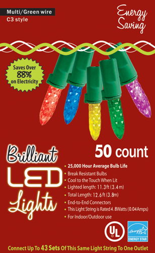 HOLIDAY LIGHTS 50L C3 MU