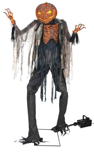 SCORCHED SCARECROW W FOG
