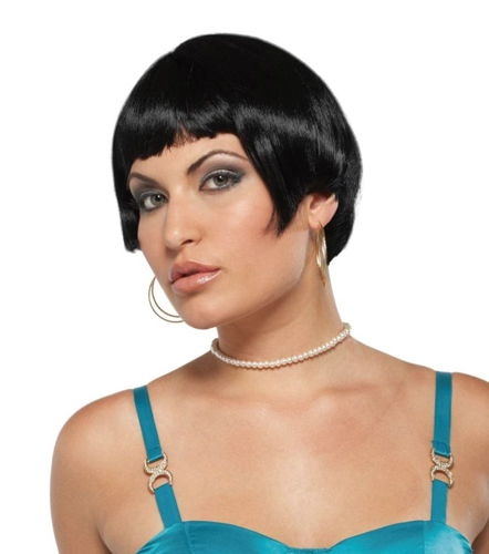 WIG FRESH FLAPPER BLACK