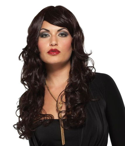 WIG SUPERMODEL DARK BROWN