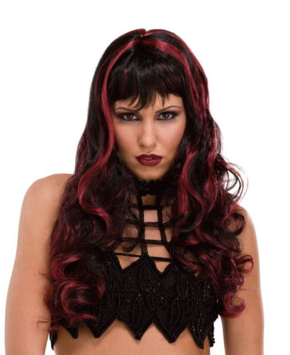 WIG WITCH CRAFT BLACK/BURGUNDY