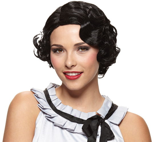 WIG GATSBY GIRL BLACK