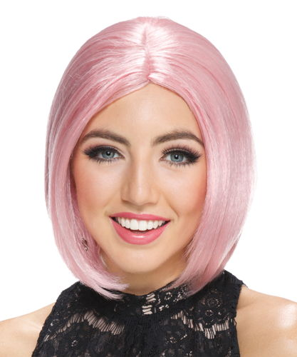 FROSTED MIDI BOB ROSE WIG