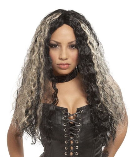 WIG ROCKER CRIMPED LONG