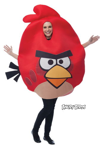ANGRY BIRDS RED ONE SIZE ADULT