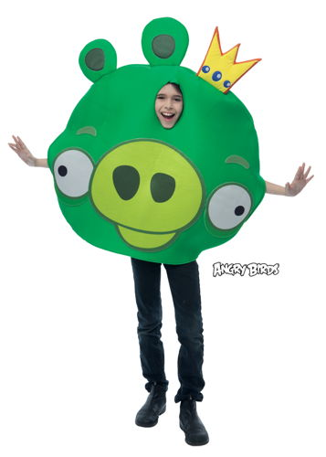 ANGRY BIRDS KING PIG CHILD