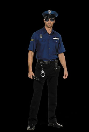 POLICEMAN YOU'RE BUSTED XL