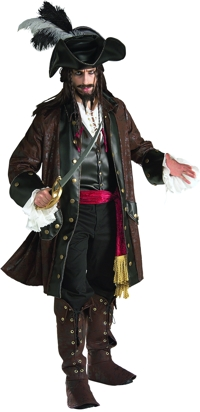 PIRATE CARRIBEAN ADULT XLG