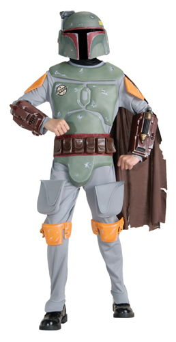 BOBA FETT CHILD DELUXE LARGE