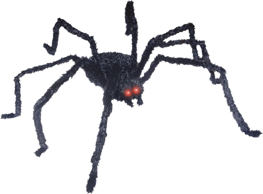 LIGHTUP SPIDER LONG HAIR