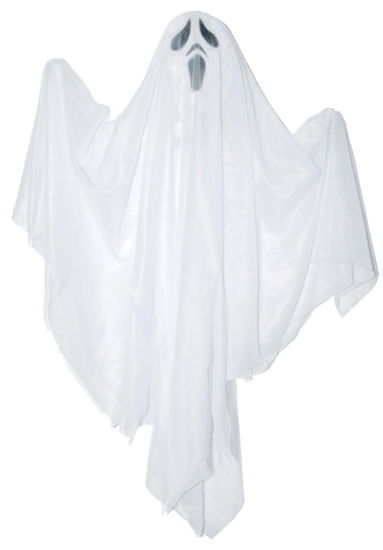 HANGING GHOST ASST 18 INCH