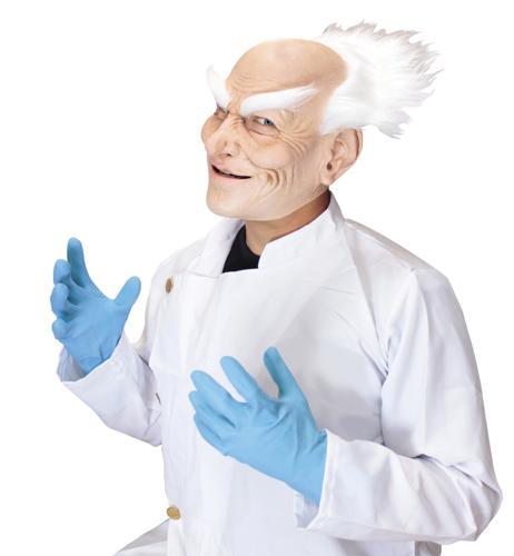 CRAZY DOCTOR JACK AD LATEX MASK
