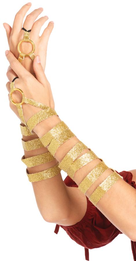 GOLD ARM WRAPS