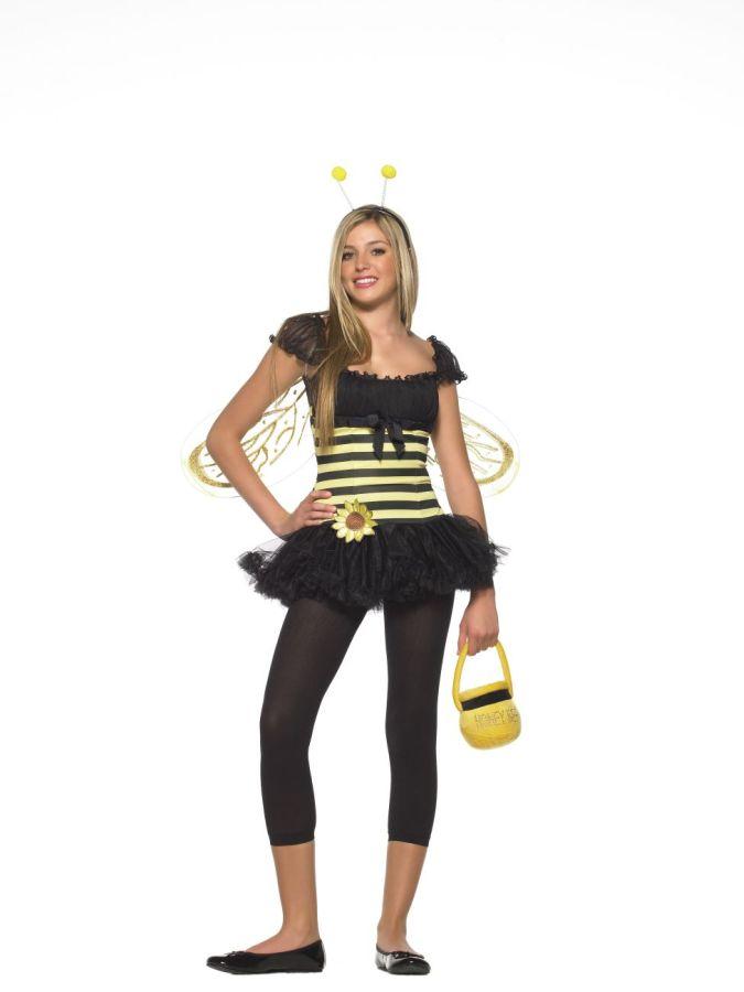 BEE SUNFLOWER TEEN MEDIUM/LARG