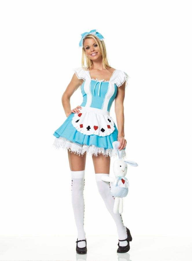 ALICE GIRL COSTUME LARGE