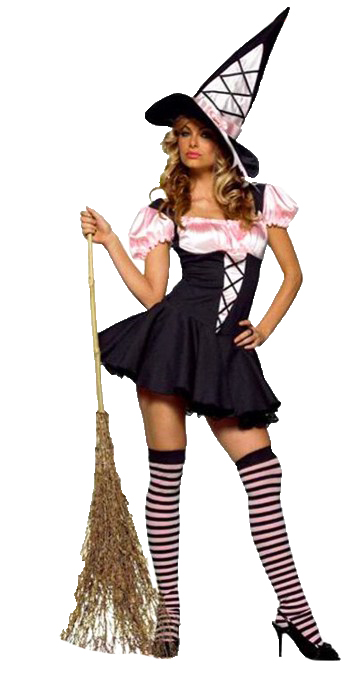 WITCH PINK AND BLACK X SMALL