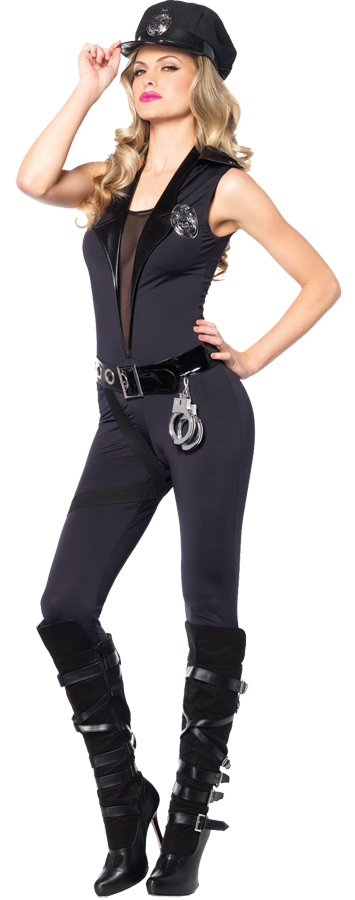 BACK UP OFFICER ADULT LARGE