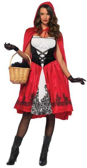 RED RIDING HOOD ADULT SMALL