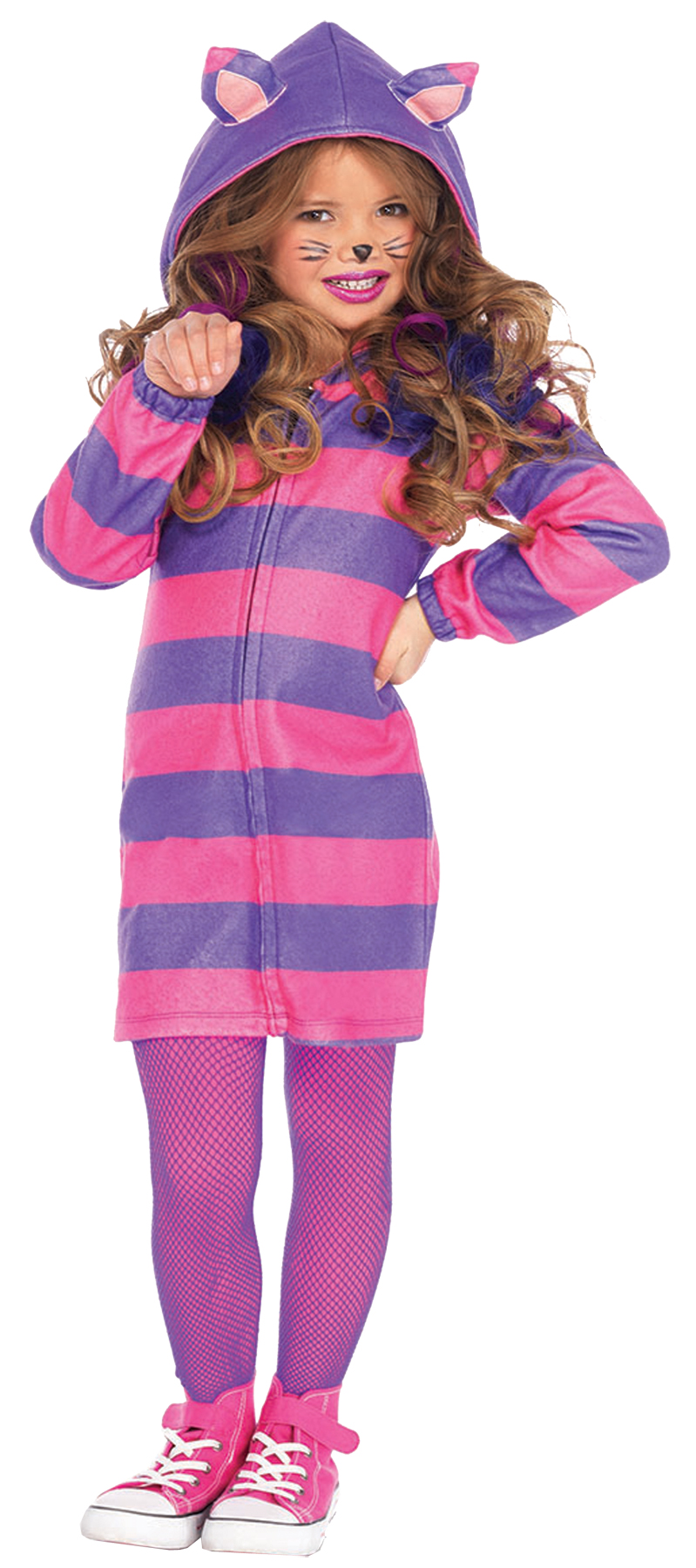 CAT CHESHIRE COZY CH LG 10-12