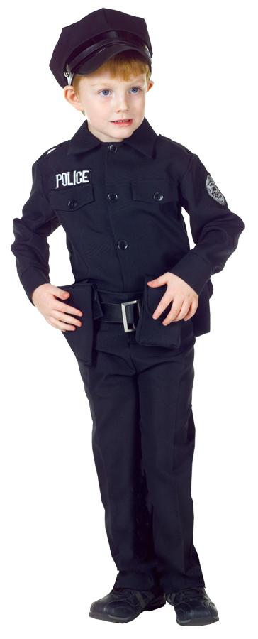 POLICE MAN SET LG CHILD 10-12