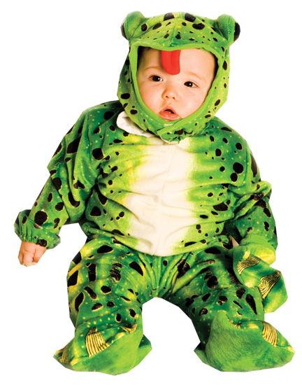 FROG PLUSH GREEN TODDLR 6-12MO