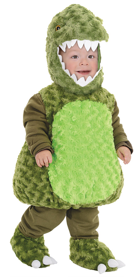 T-REX GREEN TODDLER 2-4