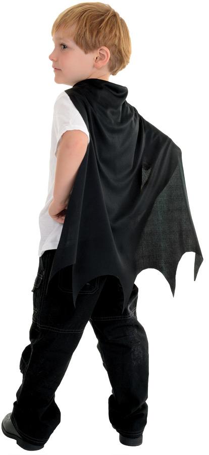 CAPE CHILD BLACK BAT