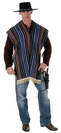 BANDITO SERAPE ADULT ONE SIZE