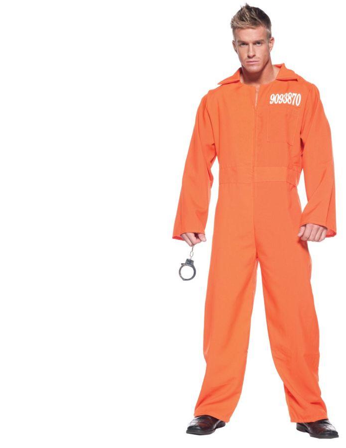ORANGE PRISON JUMPSUIT STD