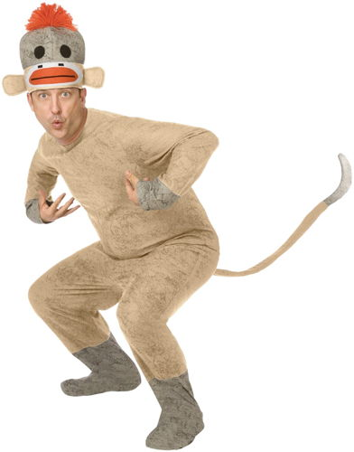 SOCK MONKEY ADULT