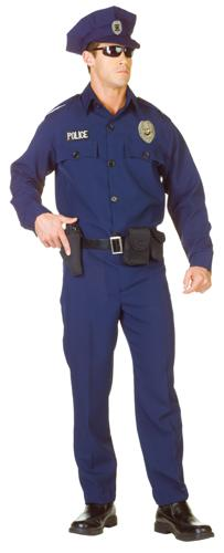 POLICE OFFICER ADULT XXL 48-50