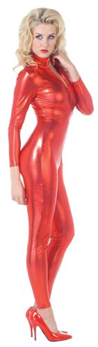 STRETCH JUMPSUIT RED XLARGE
