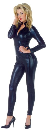 STRETCH JUMPSUIT BLACK SMALL