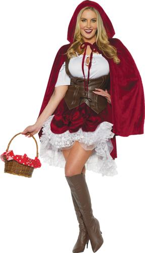 DELUXE RED RIDING HOOD ADULT