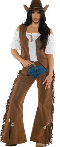COWGIRL ADULT LARGE