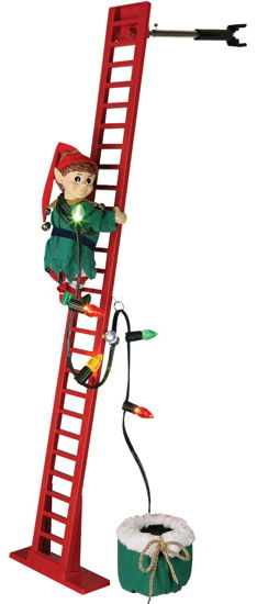 CLIMBING ELF ANIMATED